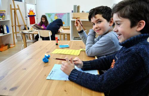Aula Montessori primaria
