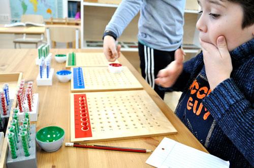Material division Montessori