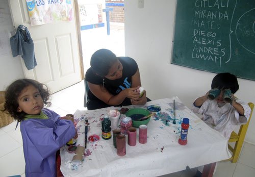 Escuela Pinginos - Chiapas