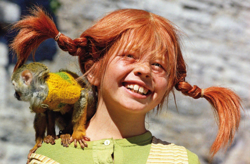 Imagen de la serie Pippi Calzaslargas