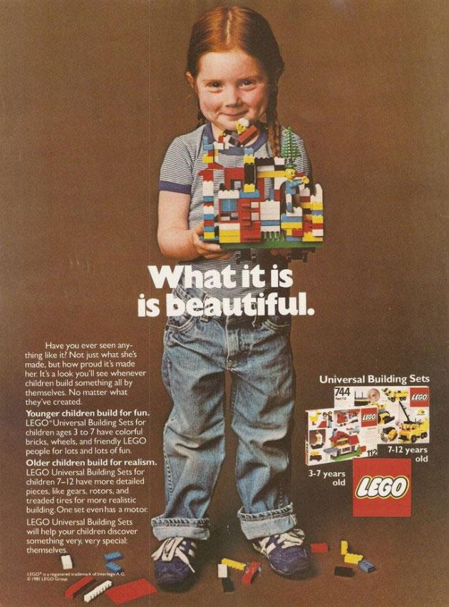 Anuncio de Lego 1981