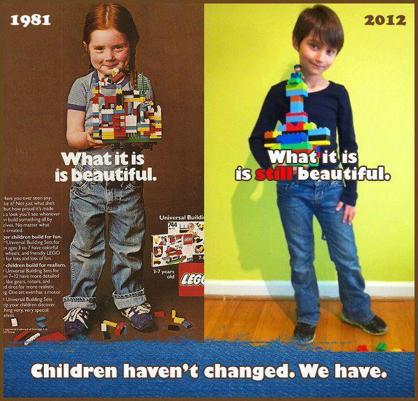 Remake del anuncio de Lego